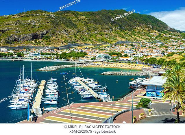 Marina. Machico. Madeira, Portugal, Europe