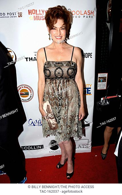 Carolyn Hennesy attends The 3rd Annual Roger Neal Style Hollywood Oscar Viewing Black Tie Dinner Gala and Roger Neal Style Gift Suite at The Hollywood Museum on...