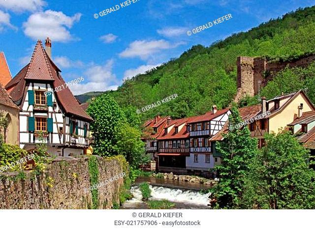 Idylle an der Weiss in Kaysersberg