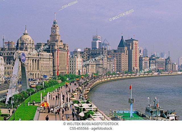 The Bund (Waitan). Shanghai, China