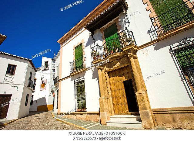 Ronda, White Towns, Malaga province, Andalusia, Spain