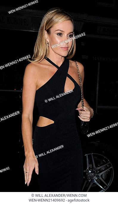 Amanda Holden spotted at Chiltern Firehouse Featuring: Amanda Holden Where: London, United Kingdom When: 30 May 2014 Credit: Will Alexander/WENN.com