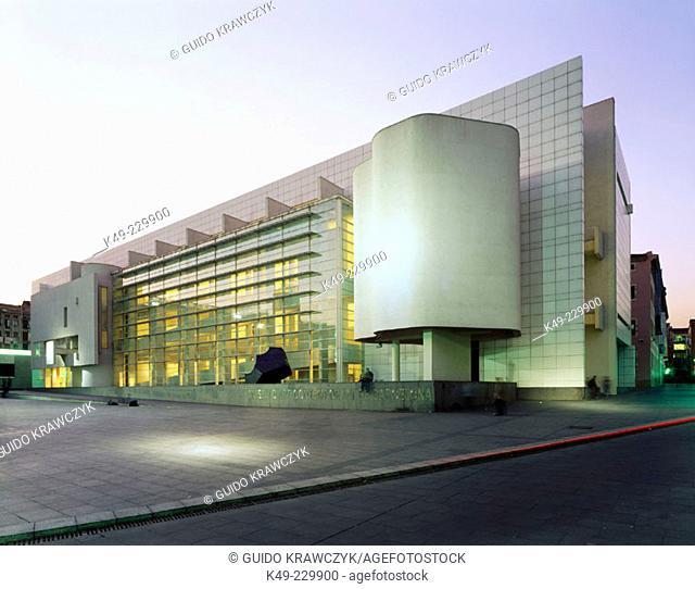 MACBA (Museum of Contemporary Art). Barcelona. Spain