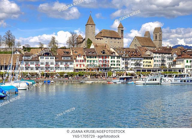 Castle of Rapperswil, Rapperswil-Jona, St  Gallen, Switzerland