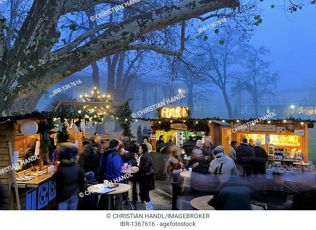Christmas market, Berndorf, Triestingtal, Lower Austria, Austria, Europe