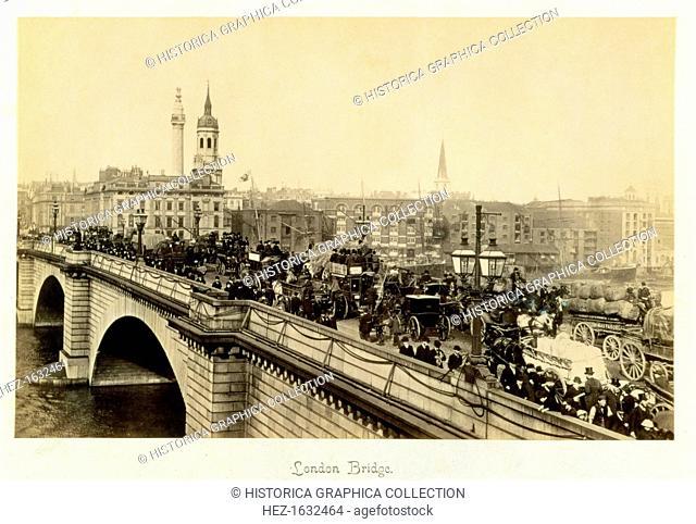 London Bridge, c1880