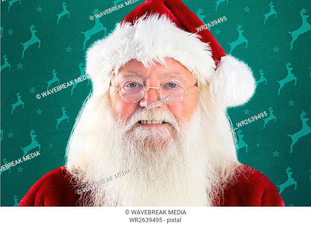 Portrait of smiling santa