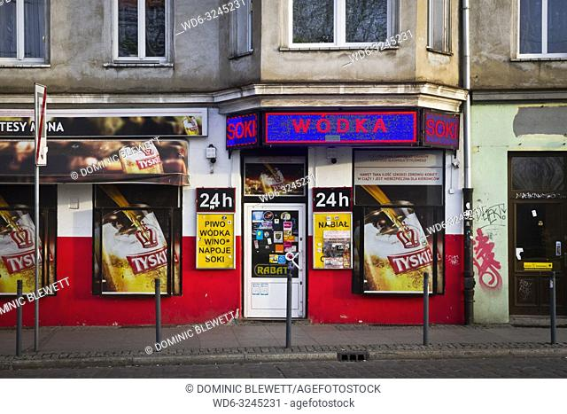 Polish off license