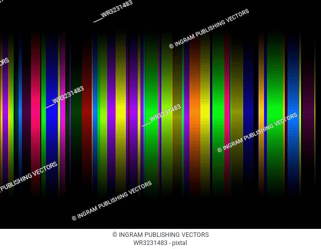 Colourful rainbow abstract background with copy space