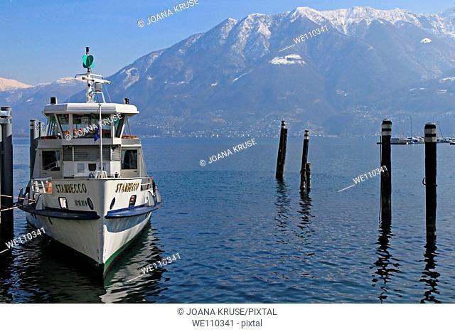boat in Locarno - Ticino