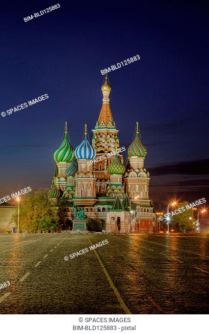 Saint Basil's Cathedral and Red Square, Moscow, Russia