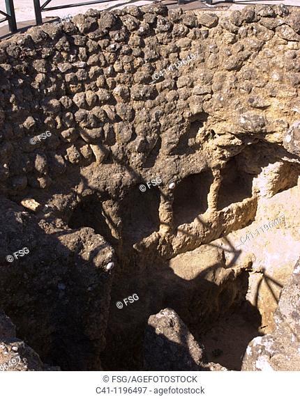 Elephant Tomb in Roman necropolis, Carmona, Sevilla province, Andalusia, Spain