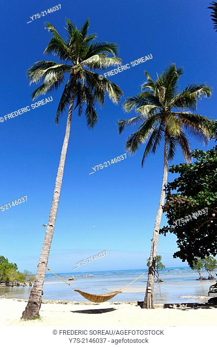 A beach near Puerto Princesa,Palawan island,Philippines,South East Asia