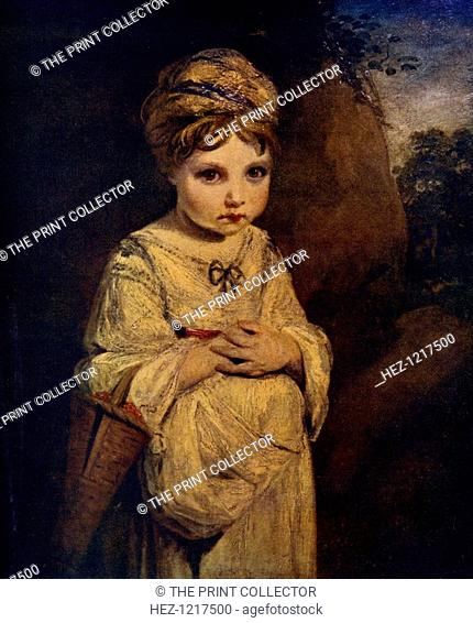 'The Strawberry Girl', c1770s, (1912). A colour print from Famous Paintings, with an introduction by Gilbert Chesterton, Cassell and Company, (London, New York