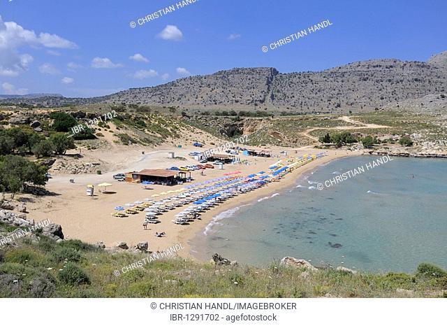 Malona Bay, Charaki, Rhodes, Greece, Europe