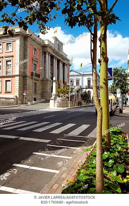 Prefectures, Subdelegación del Gobierno, Ayuntamiento, Santa Cruz de Tenerife, Tenerife, Canary Islands, Spain