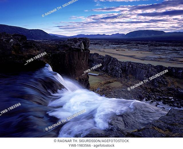 Oxararfoss, Thingvellir National Park, Iceland