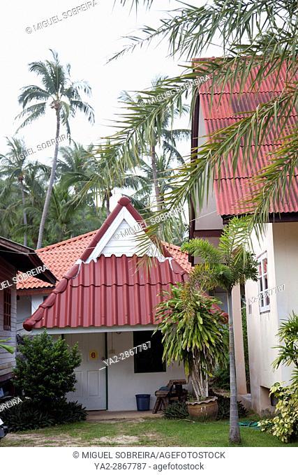 Thong Plu Resort in Bang Por Area of Koh Samui in Thailand