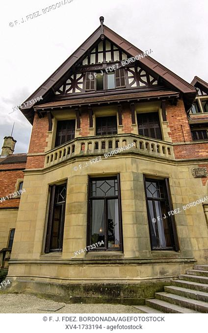 Miramar Residence in San Sebastian, by English architect D Seldon Vornum  Gipuzkoa, European Capital of Culture 2016, Basque Country, Spain