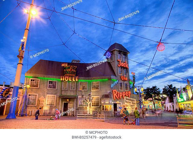 amusement park Vienna Prater, Austria, Vienna