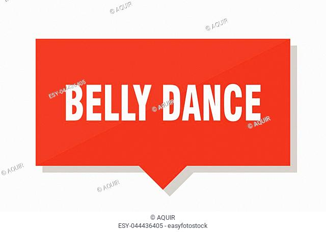 belly dance red square price tag