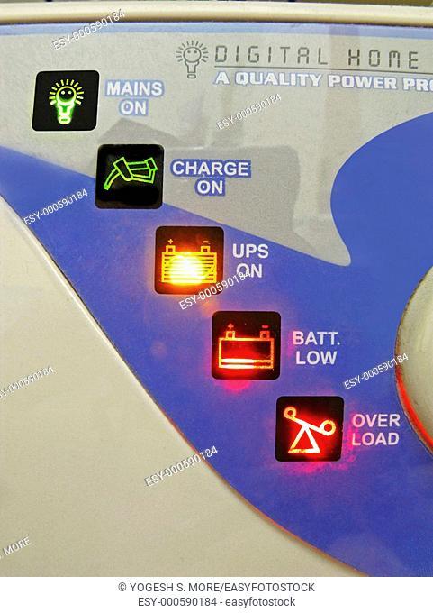 Indicator Lights on Digital Home UPS