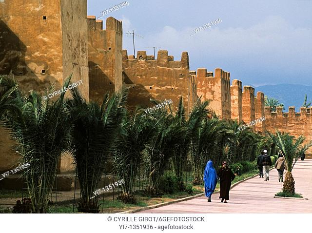 City walls and ramparts, Taroudant, Morocco