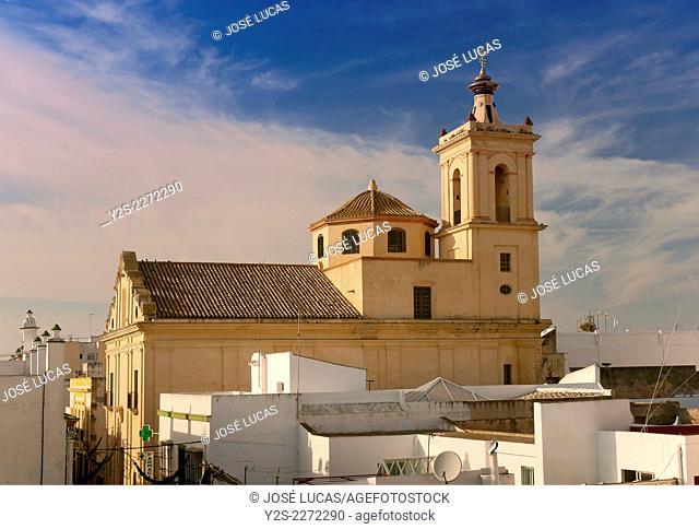 Church of San José - 18th century, Puerto Real, Cadiz province, Region of Andalusia, Spain, Europe