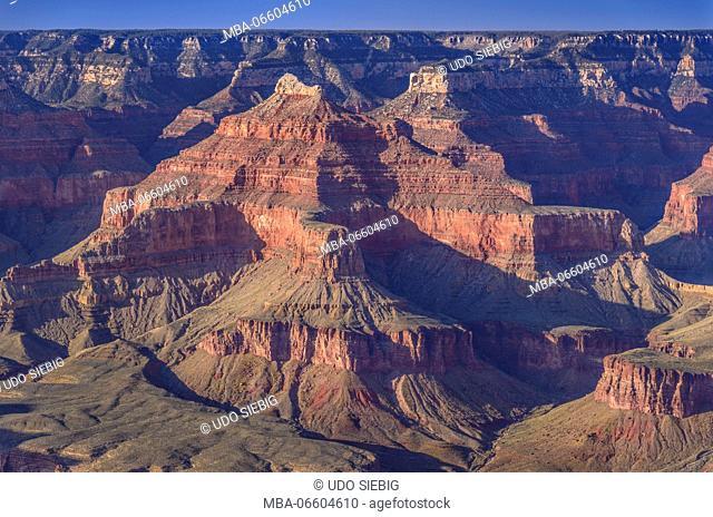 The USA, Arizona, Grand canyon National Park, South Rim, Hopi Point