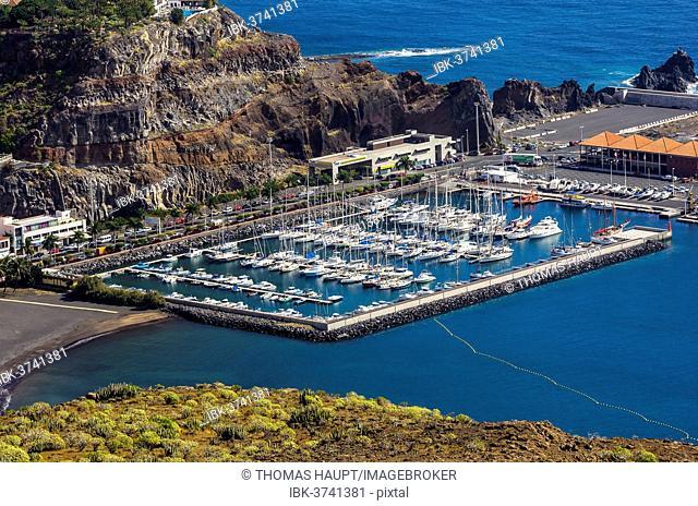 Marina, San Sebastián de la Gomera, La Gomera, Canary Islands, Spain