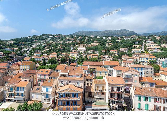 Cityscape, Le Lavandou, Var, Provence-Alpes-Cote d`Azur, France, Europe