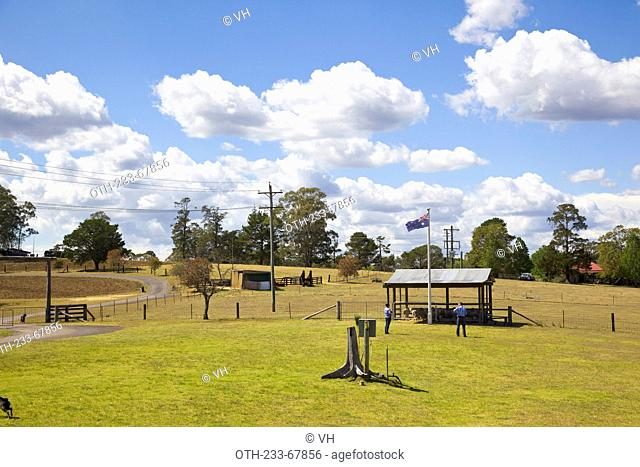 Toburk farm, outback of Sydney, Australia