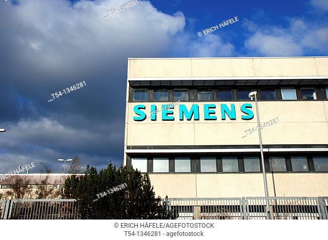 Siemens factory in Bad Neustadt / Saale