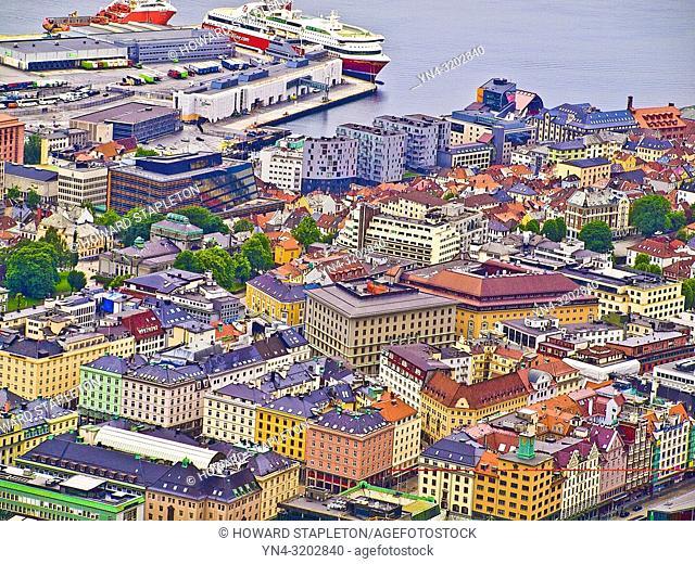 Bergen, Norway waterfront