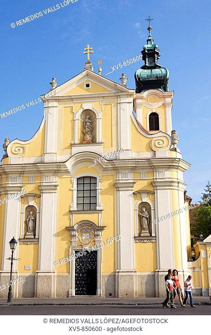 Hungary Trasdanubio Györ Carmelitas Church