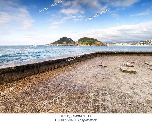 Island of Santa Clara (San Sebastian)