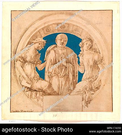 Design for a Wall Monument. Artist: Francesco di Giorgio Martini (Italian, Siena 1439-1501 Siena); Date: ca. 1490; Medium: Pen and brown ink