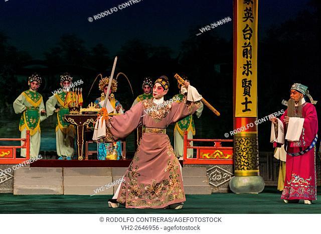 Cantonese Opera performance, Hong Kong