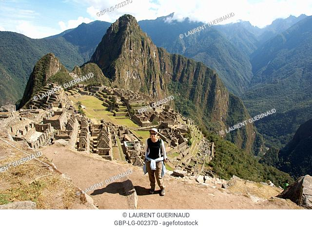 Machu Picchu, Worth Sacred of Los Incas, Region of Cusco, Lima, Peru