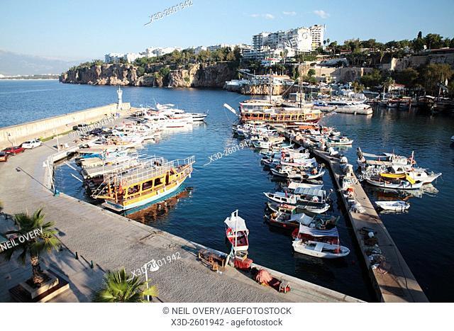 Kaleici Harbour, Antalya, Turkey