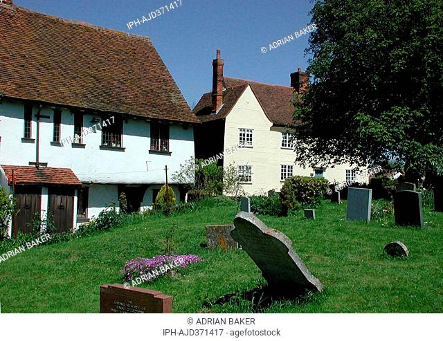 England Essex Finchingfield Almshouses