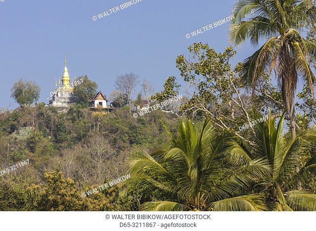 Laos, Luang Prabang, Phu Si Hill