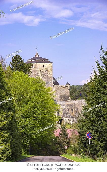View of Kost Castle, Bohemian Paradise (Cesky Raj), Czech Republic