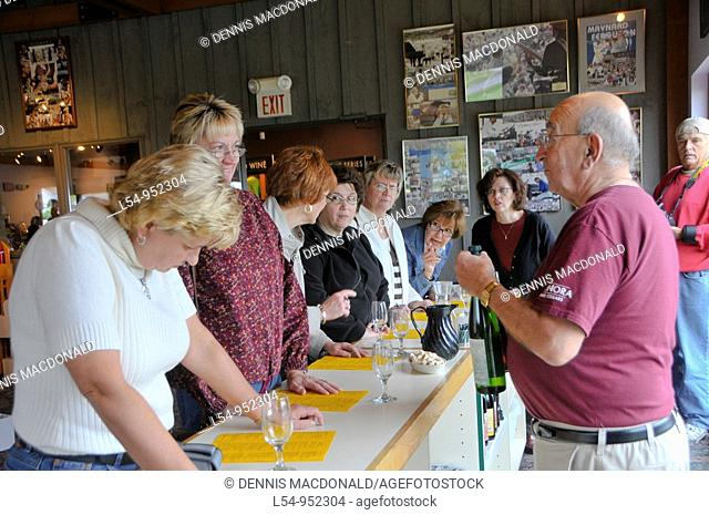 Wine Tasting at Finger Lakes Region New York Winery