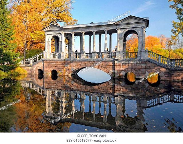 Bridge in Catherine park, Pushkin