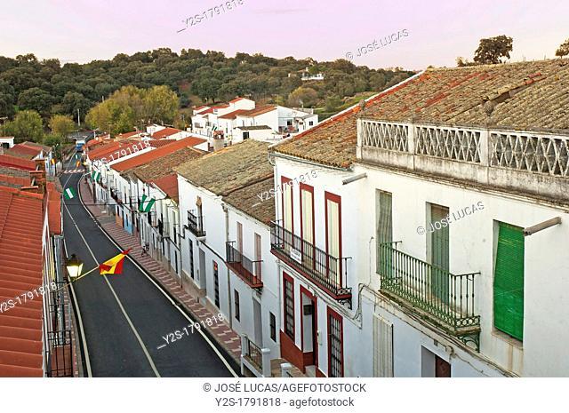 Royal street, San Nicolas del Puerto, Seville-province, Spain