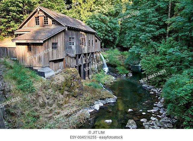 Historic Grist Mill along Cedar Creek