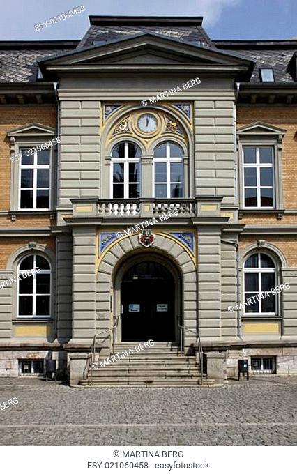 Ehemaliges Postgebäude in Mühlhausen