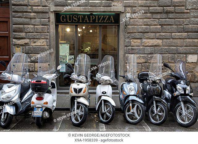 Gusta Pizza Restaurant and Motorbikes, Florence, Italy
