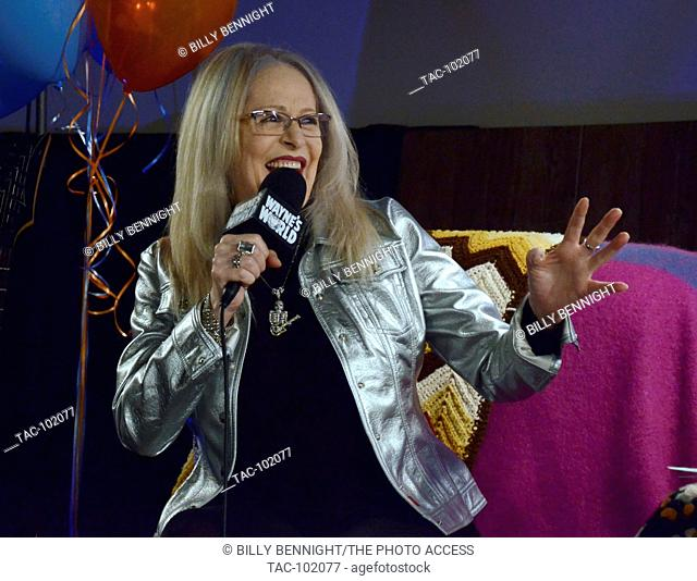 "Penelope Spheeris attends the """"Wayne's World"""" 25th Anniversary Panel Discussion at the Grove at Pacific Theaters on January 9, 2017 in Los Angeles, California"